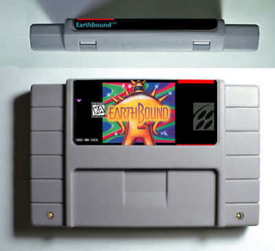 Earthbound Snes 16bit Super Nintendo Game Cartridge Battery Save US Version for sale  Shipping to Canada