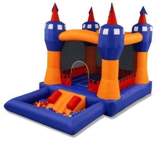 Inflatable Slide Kmart: 15ft Bouncy Castle