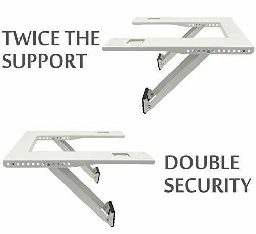 Qualward Air Conditioner Bracket Window AC Support Brackets