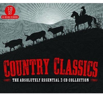 Various Artists - Country Classics: The Absolutely Essential 3CD Col [New CD] UK