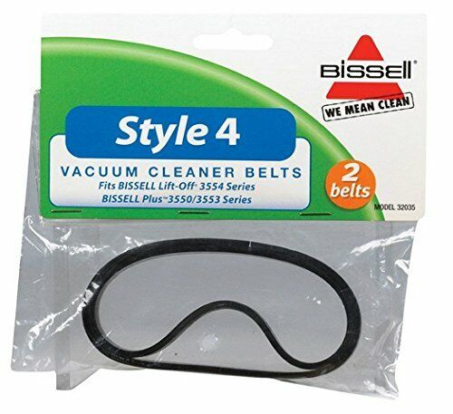 Bissell STYLE 1 & 4 Vac Belt #32035, 2/pk