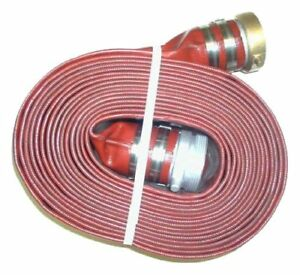 "Eagleflo PVC 1.5"" Male X Female Water Shanks Hose 50' Length"
