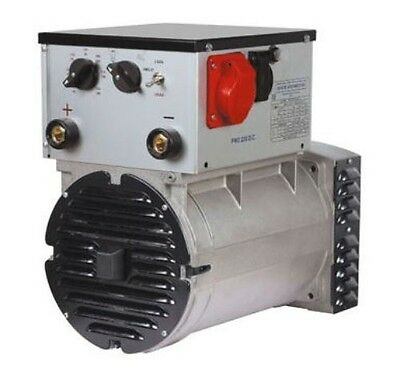 Meccalte Tapered Cone 5000 Watt 240amp Weldergenerator Head Pw2-240