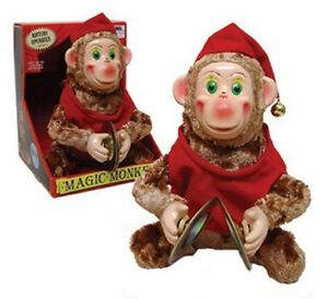 Cymbal Monkey Circus Magic Style Dances Claps Clapping Hops Chirps Classic Toy