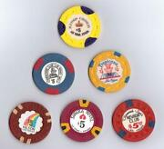 Old Casino Chips