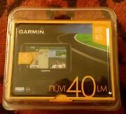 New Garmin GPS