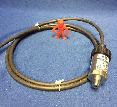 Wika - Model S-10 Pressure Transmitter P 14078452 500 Psi Dc10-30v