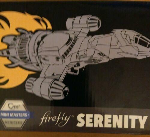 Firefly Serenity QMX Mini Masters Vehicle Figure Loot Crate Exclusive NIB
