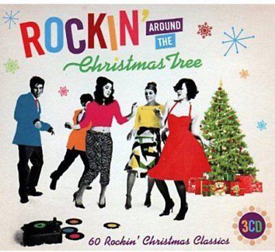 Rockin Around The Christmas Tree 3 x CD 50's 60's Best Of Greatest Hits Classics