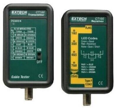 Extech Network Cable Tester Ct100
