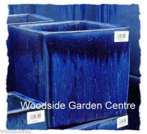 Blue Garden Planters Ebay
