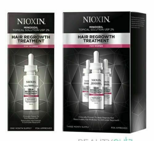 Nioxin Minoxidil 2% Hair Regrowth Treatment for Women