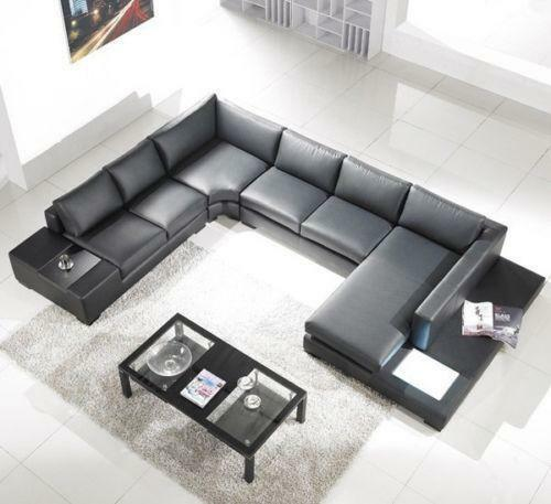 U Shaped Sectional Sofas Loveseats Amp Chaises Ebay