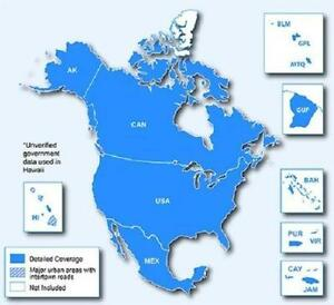 GARMIN 5 CONTINENTS MAP.