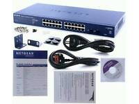Netgear Prosafe 24pt Gigabit Smart switch
