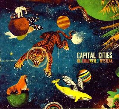 Capital Cities   In A Tidal Wave Of Mystery  New Vinyl