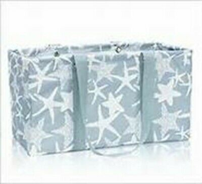 Thirty One Large Utility Tote (new) STARFISH (Thirty One Large Utility Tote Starfish Splash)