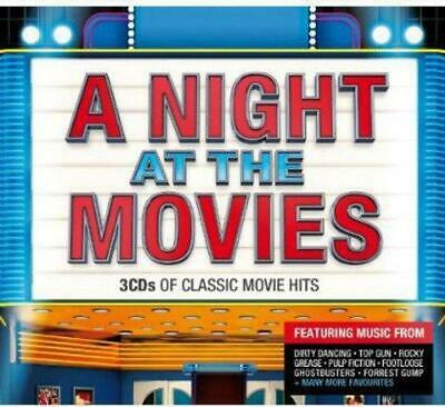 A NIGHT AT THE MOVIES – CLASSIC MOVIE HITS 3CDs (NEW/SEALED)