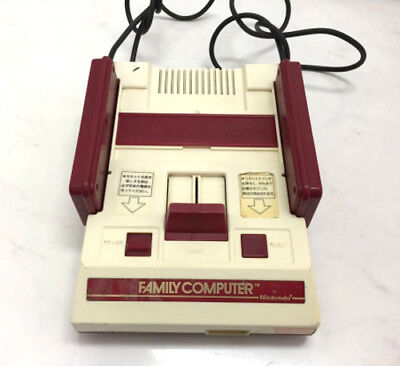 USED Nintendo Famicom Console w/o RF Switch or AC Adapter JAPAN Japanese NES