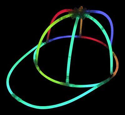 Glow Stick Hats (Glow Stick Caps - Glow in the Dark Party Hats - Premium Glowsticks from)