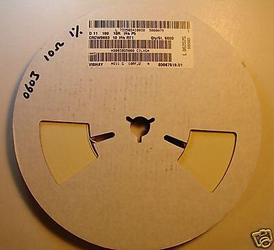 Vishay 0603 Resistor Reel 10 1 Crcw0603101 5000pcs