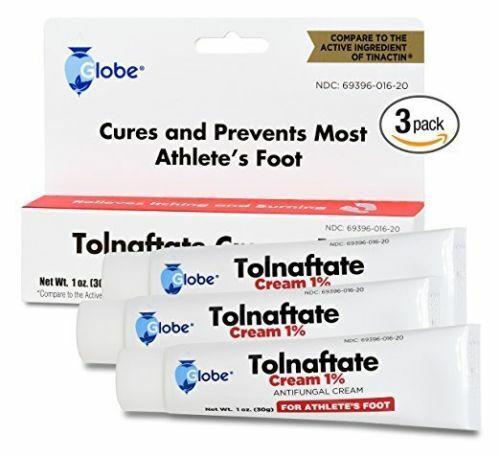 Tolnaftate Cream USP 1% Antifungal 1oz Tube -6 Pack -Expirat