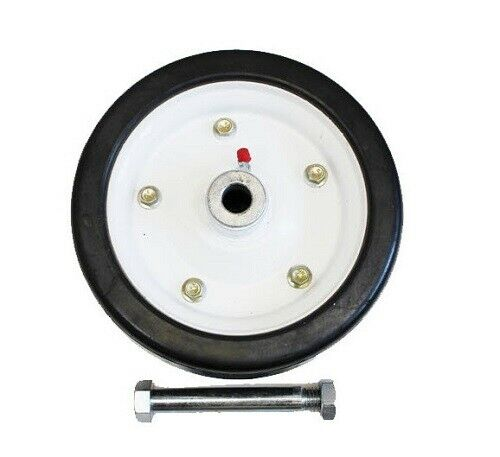 """King Kutter 502020 Finish Mower Wheel 9"""" Solid Tire Fits all Models"""