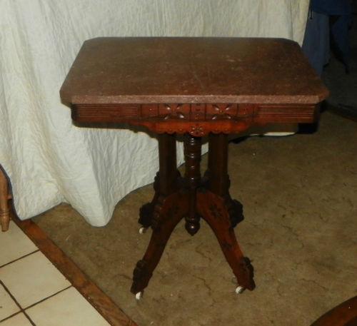 Eastlake Parlor Table Ebay