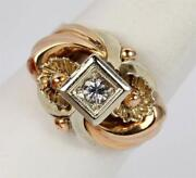 Art Nouveau Gold Ring
