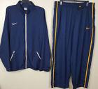 Nike Blue Activewear Jackets for Men