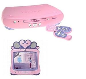 "Disney Princess 13"" TV And DVD PLAYER NEW"