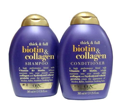 Organix Thick & Full Biotin & Collagen Shampoo AND Condition