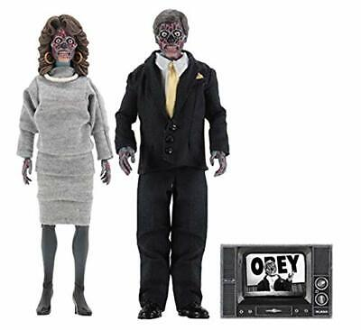 """NECA They Live 8"""" Clothed Action Figures Alien 2 Pack NEW In Stock for sale  Shipping to India"""