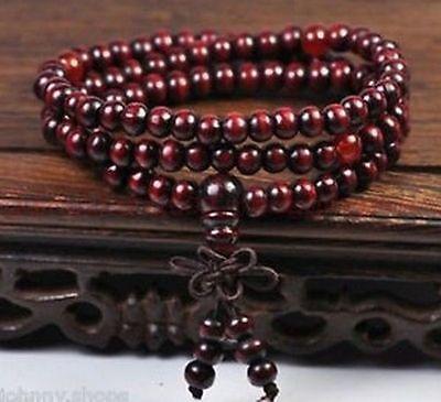 Sandalwood Buddhist Buddha Prayer Beads Mala Bracelet Necklace 108PCS