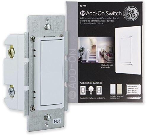 Switch Z Wave Zigbee Bluetooth Wireless Smart Lighting Controls White Light Fan