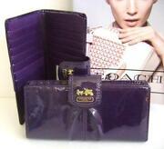 Coach Purple Wallet