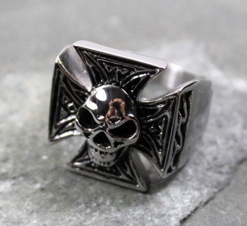 Show your badass jewelry biker style with our men's skull rings from Tribal Hollywood. We have every size and style of skull rings for men to choose from, including silver skull rings, stainless steel skulls, unique ring styles and crystal embellished skull rings for men to help you stand out in the crowd.