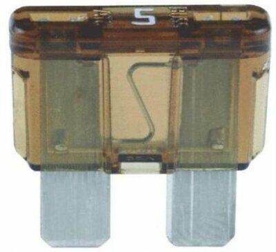 Bussman Bpatc-5-rp 5 Amp Blade Fuse 5 Count