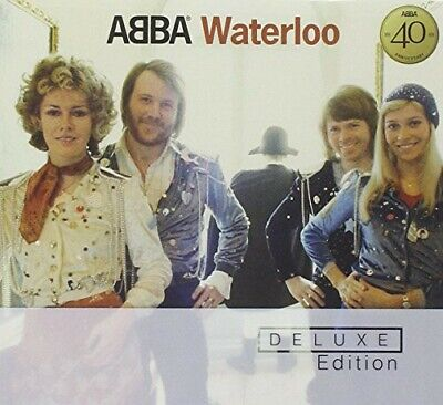 ABBA - Waterloo [Deluxe Remaster] (CD, Jun-2001, Universal/Polydor)) NEW SEALED