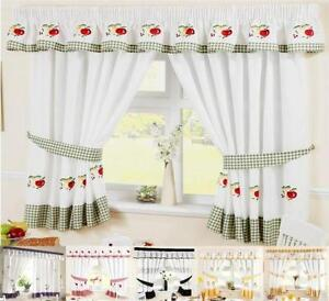 Beau Kitchen Curtains 66 X 48