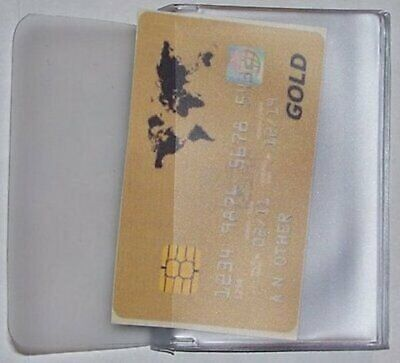 USA Quality Vinyl Trifold Wallet Insert 8 Page Credit Card Size FAST -
