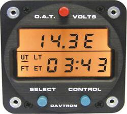 Davtron M803 CHRONOMETER/DIGITAL CLOCK 28 VOLT LIGHTING/O.A.T.