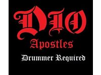 Ronnie James Dio Tribute requires drummer
