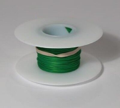 30 Awg Kynar Wire Wrap Ul1423 Solid Wiremod Type 100 Foot Spools Green New