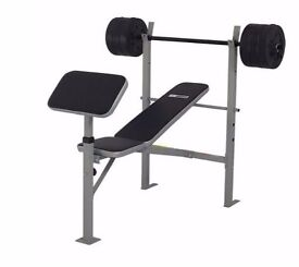 Pro Fitness Bench with out Weights 138.