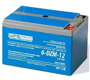 6-DZM-12 12V 12Ah Sealed Lead Acid Rechargeable Battery