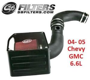 NEW SB COLD AIR INTAKE KIT 75-5102 238604065 2004 2005 Chevy GMC 6.6L AUTOMOTIVE TRUCK ENGINE PARTS