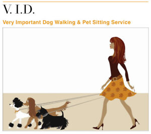V.I.D. PET SITTING SERVICES-**ACCEPT ONLY 1 PET AT A TIME**
