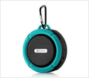 NEW in box - 5W Blue Waterproof Bluetooth Speaker with Handsfree West Island Greater Montréal image 1