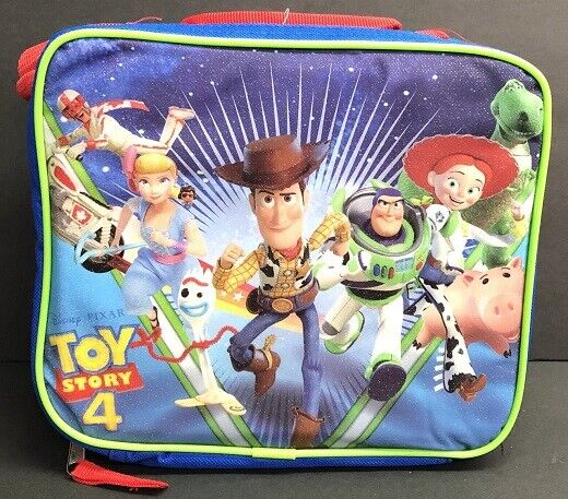 Toy Story 4 Insulated Lunch Bag Shoulder Strap Bo Peep Forky